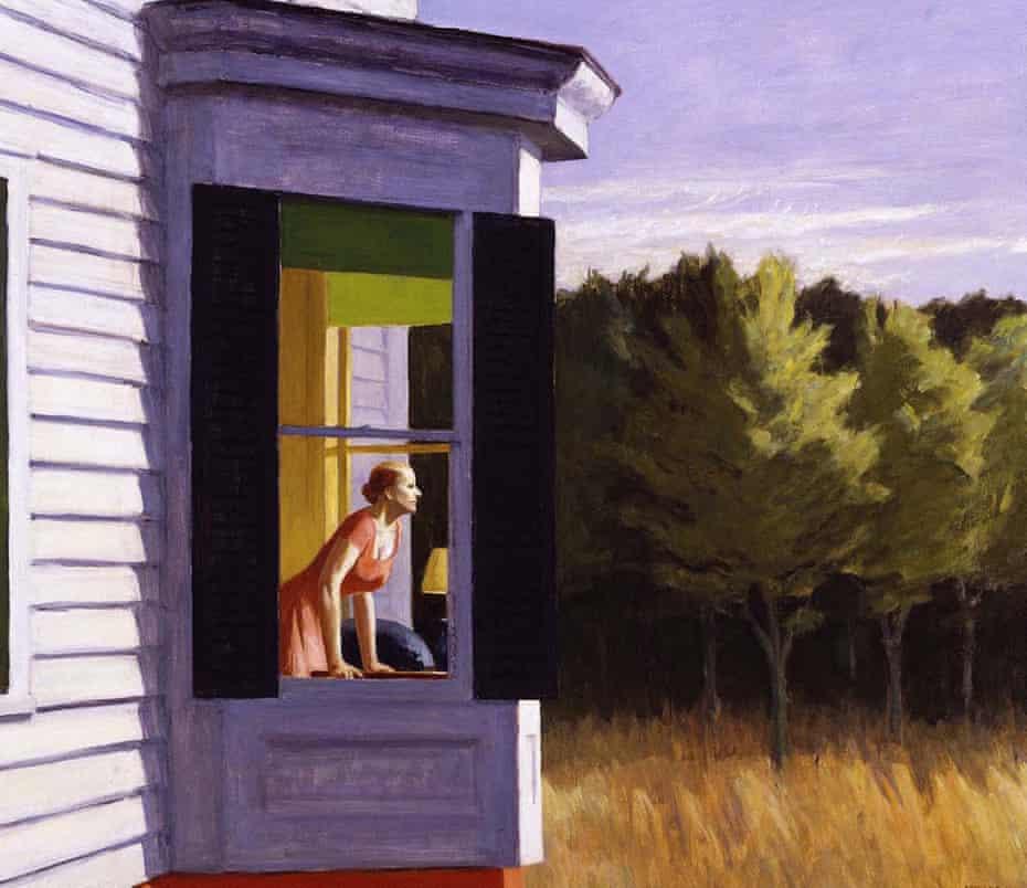 Eerie echoes … Edward Hopper's Cape Cod Morning, 1950.