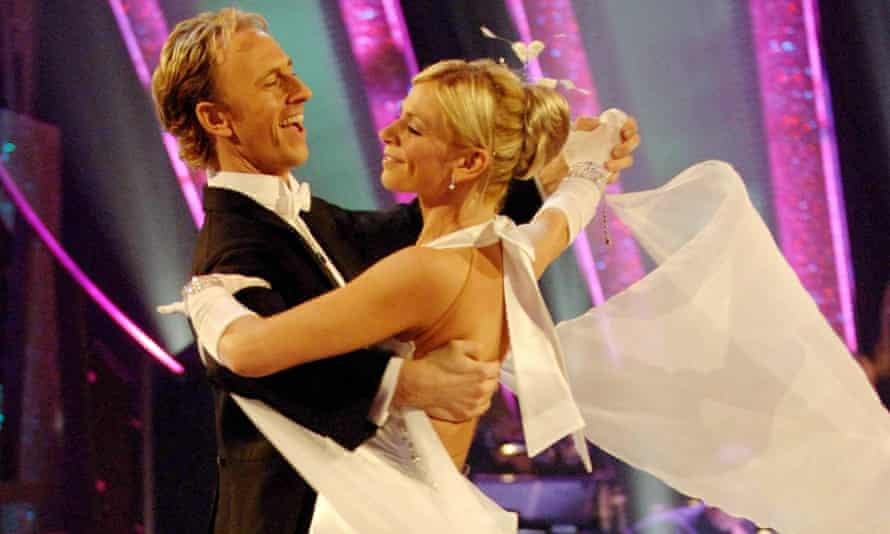 On Strictly with Ian Waite.
