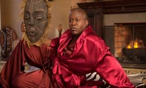 Behind the mask: Tituss Burgess in Unbreakable Kimmy Schmidt