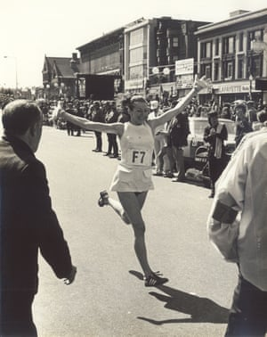 Kathrine Switzer, the first woman to run the Boston Marathon as an officially registered competitor