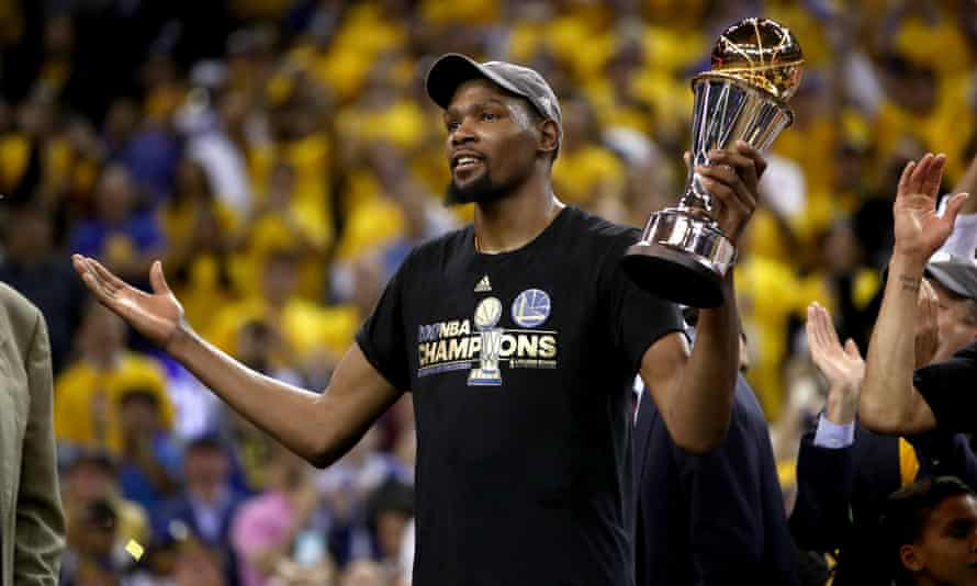 Kevin Durant has won two NBA title with the Golden State Warriors, and was name the league MVP in 2014