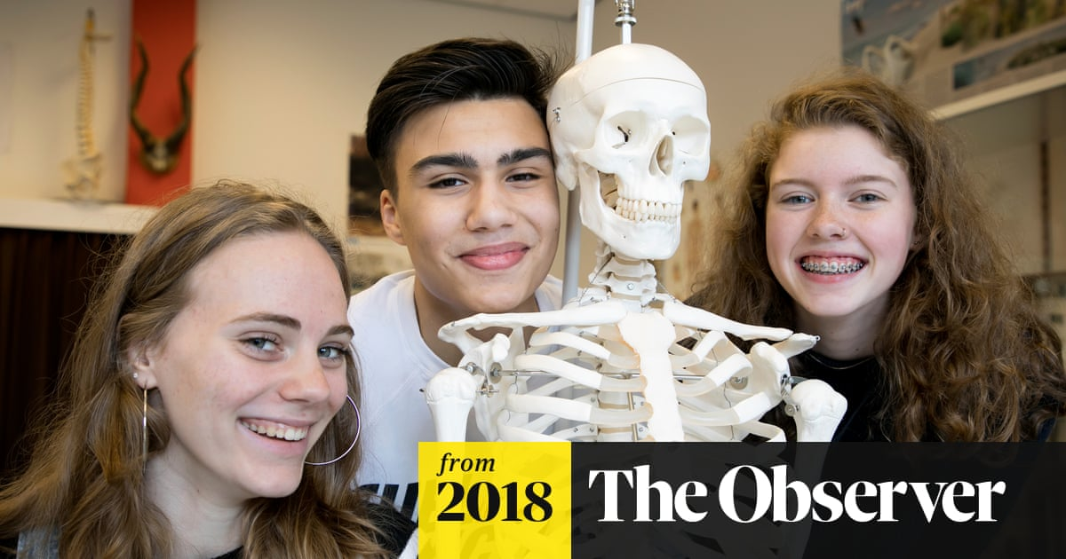 Why Dutch Teenagers Are Among The Happiest In The World World News The Guardian