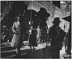 Reflections, New York, 1939-1945After studying painting with Cubist painter Andre Lhote, Model turned to photography, though she always credited Shoenberg with being her greatest teacher and influence.