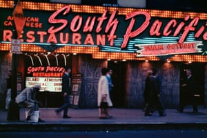 South Pacific Restaurant, Chicago, 1966Rediscovered after 50 years, this is the first time this body of photographic work has been published.