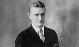 A studio portrait of American writer F Scott Fitzgerald in 1925.