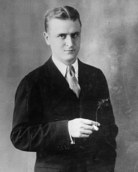 F Scott Fitzgerald in 1925, the year his masterpiece The Great Gatsby was published.