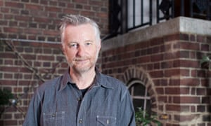 Billy Bragg photographed at Cecil Sharp House, the English folk music and dance arts centre in Camden, October 2015.