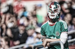 A young Mexican fan brings a touch of Lucha Libre to Canada
