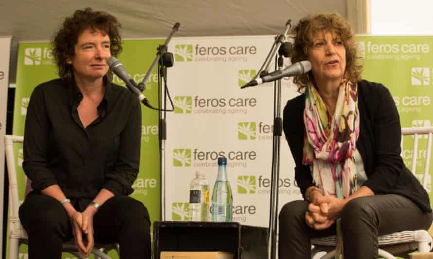 Winterson with the therapist Susie Orbach in 2014. The couple separated two years ago after marrying in 2015.
