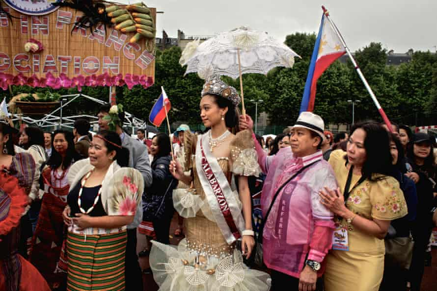 Election of Miss Filipino of Paris during the celebration of the independence day of the Philippines in Paris