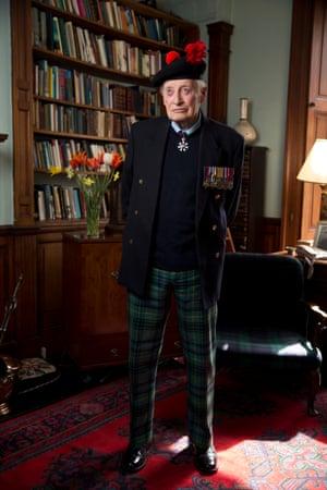 A real-life Richard Hannay … Brian Stewart CMG, veteran of the second world war and MI6.