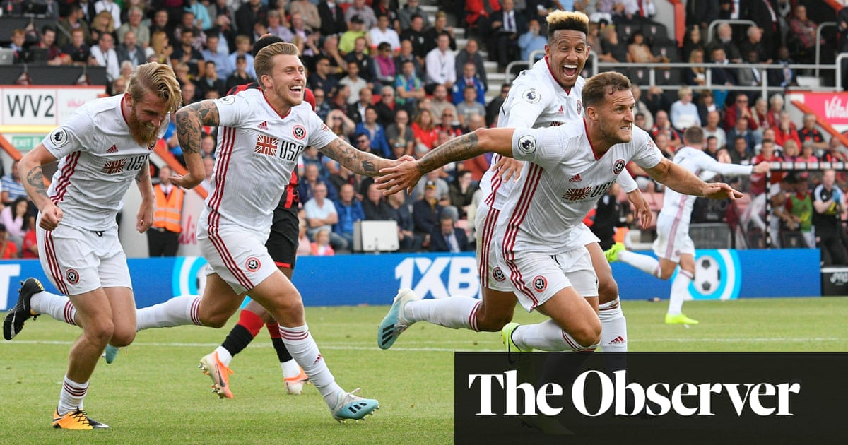 Billy Sharp pops up with late equaliser for Sheffield United at Bournemouth