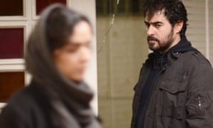 Shahab Hosseini as Emad in The Salesman.