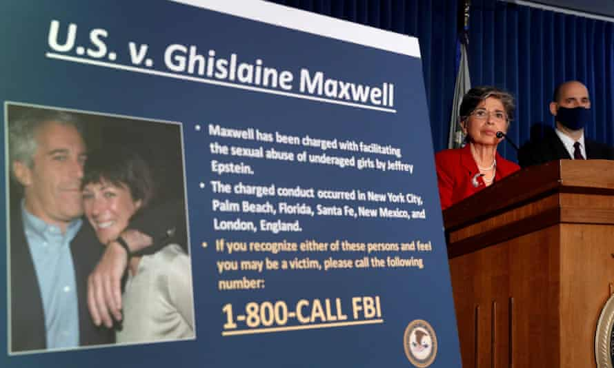 Audrey Strauss, the acting US attorney for the southern district of New York, announces charges against Ghislaine Maxwell, 2 July 2020.