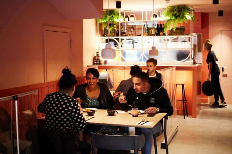 Chuku's, Tottenham, London: 'the sense of a blue-sky dream turned into bricks and mortar'
