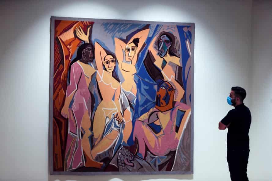 The incendiary Les Demoiselles d'Avignon by Picasso.