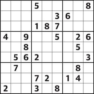 Sudoku 4082 hard
