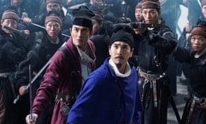 Mark Chao in Detective Dee: The Four Heavenly Kings