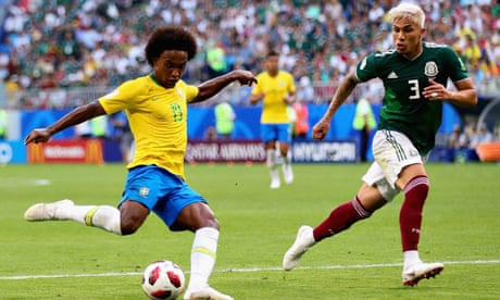 Brazil at ease with favourites tag as Willian steps into the limelight | Nick Ames