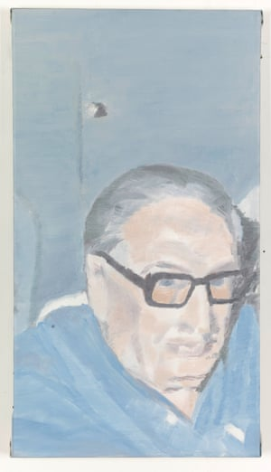 Portrait Old Man, 2000 by Luc Tuymans from the exhibition Glasses