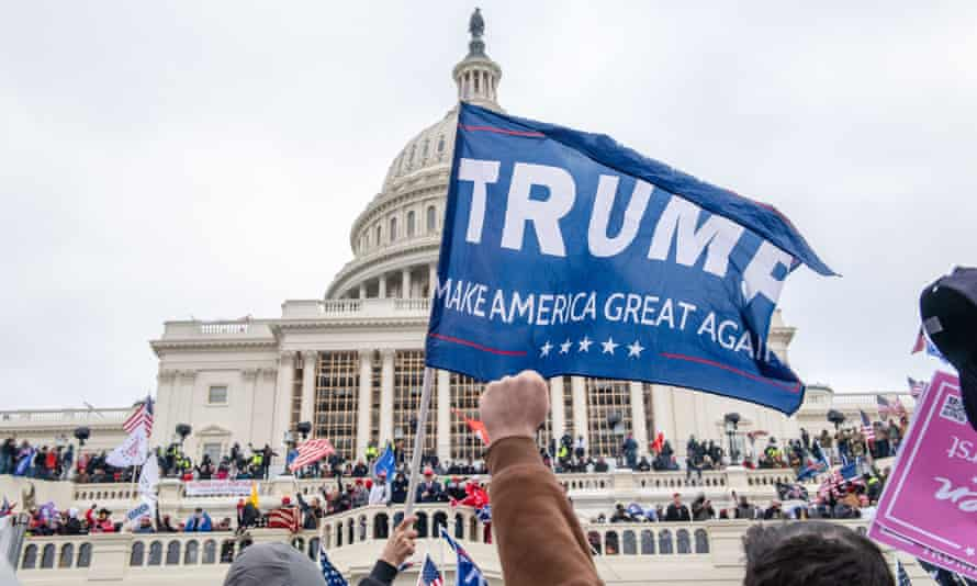 Trump supporters attacked the US Capitol on 6 January.