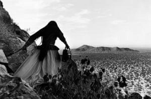 Mujer Angel, Desierto de Sonora, Mexico, 1979