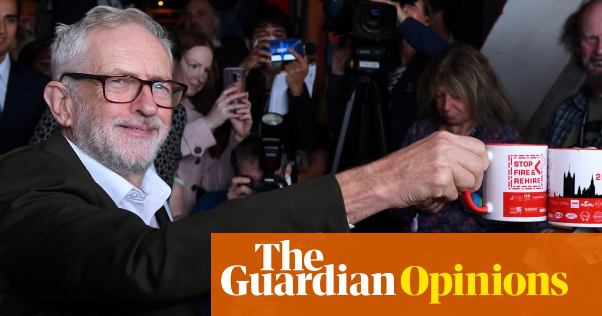 Oh Jeremy Corbyn – Labour fringe event is like being in a time warp