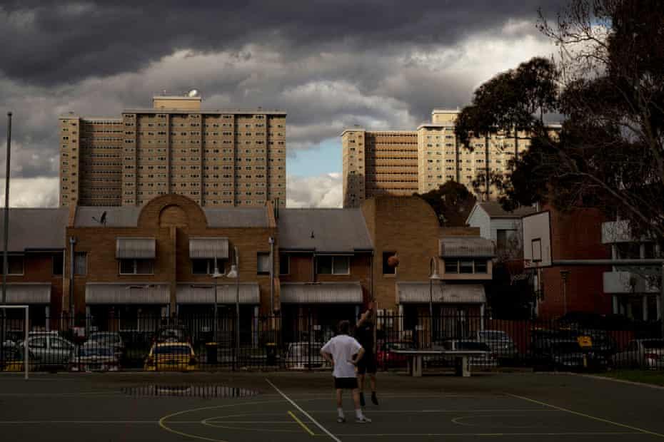 The Collingwood public housing complex.