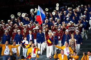 During the 2012 London Olympics Maria Sharapova became the first woman to bear the national flag as she led the Russian team into the Olympic Stadium during the Opening Ceremony. She competed in the tennis tournament during the games and won the silver medal