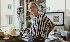 Lucinda Chambers, who departed as fashion director of Vogue after 35 years, and later revealed she'd been fired.