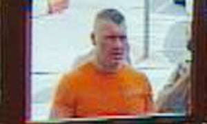 Raoul Moat captured on CCTV footage entering a Newcastle shop on Friday, 2 July 2010.