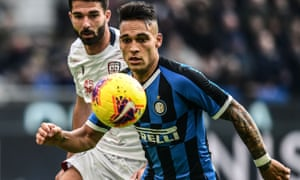 Lautaro Martínez is wanted by Barcelona.