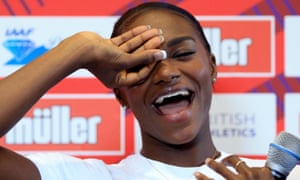 Dina Asher-Smith faces her toughest challenge of the summer in the 200m in Birmingham.