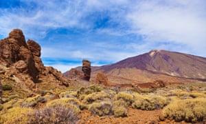 Finger Of God rock at Teide