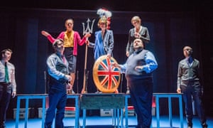 Actors from My Country; a work in progress by Carol Ann Duffy at the National Theatre.