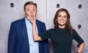 Rob Beckett and Geri Horner in All Together Now