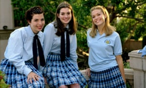 Matarazzo with Anne Hathaway and Mandy Moore in The Princess Diaries, 2001.