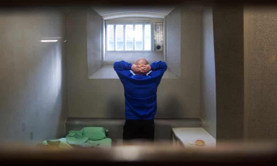 A cell in Glasgow's HMP Barlinnie