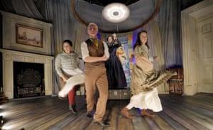 'Fine performances': Laura Jane Matthewson, Deka Walmsley, Lizzy McInnerny and Amy McAllister in Harriet Martineau Dreams of Dancing.