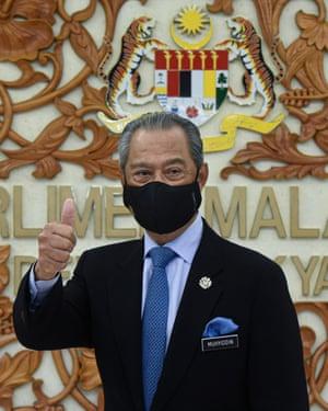 Malaysia's prime minister, Muhyiddin Yassin