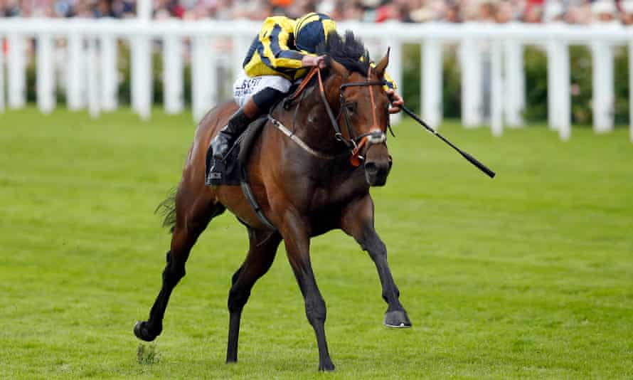 My Dream Boat, ridden by Adam Kirby, wins the Prince Of Wales's Stakes at Royal Ascot.