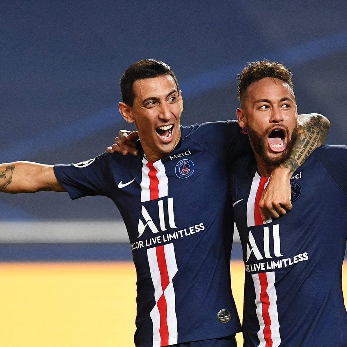 Psg S Superstars Sweep Leipzig Aside To Reach First Champions League Final Champions League The Guardian