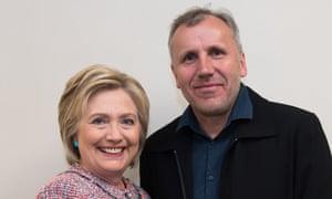 Faithless electors for Ed Pilkington story Hillary Clinton and Vinz Koller