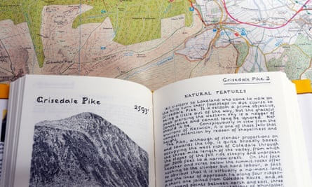 A Wainwright walking guide.