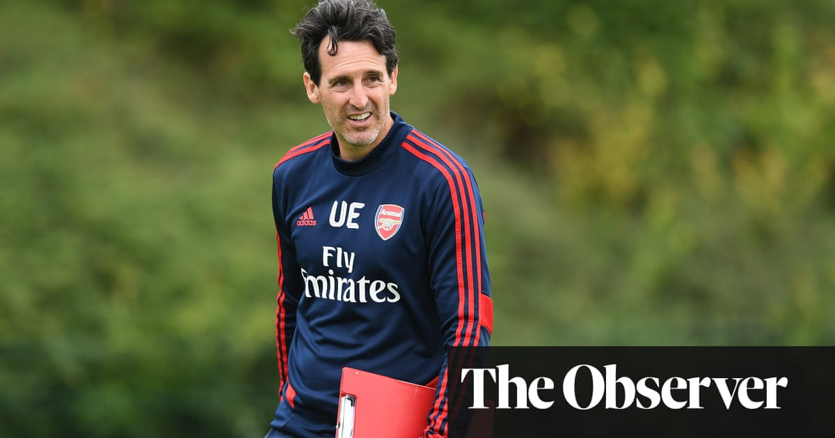 Arsenal's Unai Emery finds hopes of new dawn are clouded by misfortune
