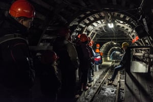 Irek continues his tour of the Guido mine in Zabrze