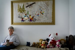 Holocaust survivor Sarah Capelovitch at home in Israel