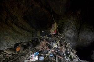 Maniq indigenous tribe, Thailand
