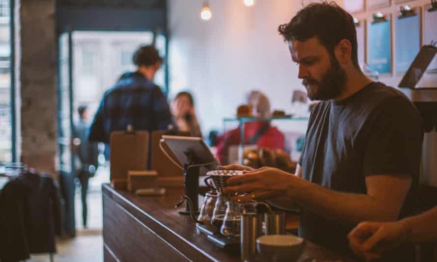 bearded barista, Fortitude. Edinburgh