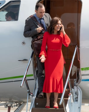 Is it real life, reality TV or Veep?